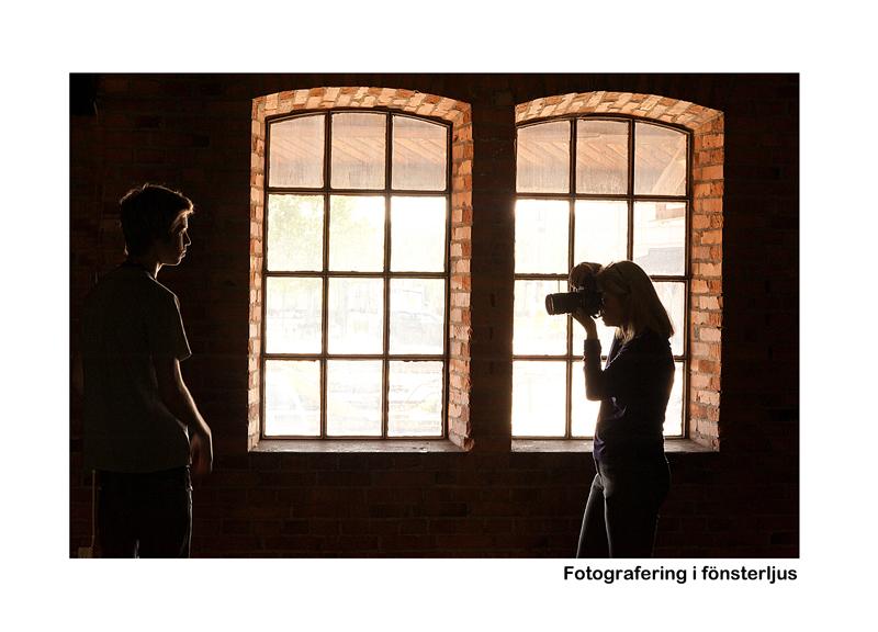 Fotografering i Fönsterljus
